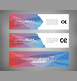 simple geometric banners 08 vector image vector image