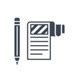 article submission glyph icon