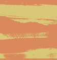 grunge orange background vector image