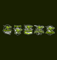 set of dinosaur emblems sports logos dino a vector image vector image