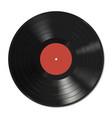 Vinyl record template vector image