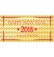 chninese new year 2018 vector image vector image
