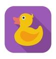 Duck flat icon