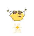 funny cartoon cute yellow lemon
