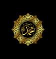 muhammad vector image
