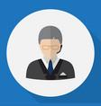 of job symbol on dispatcher vector image vector image