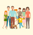 people happy couple cartoon relationship vector image vector image