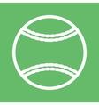 Softball vector image vector image
