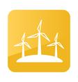 Windmill icon Farm vector image
