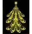 Abstract Christmas tree EPS10 vector image