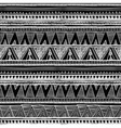 Ethnic seamless pattern in native style Tribal vector image