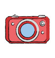 camera technology object vector image vector image