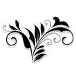 Flourish design element vector image vector image