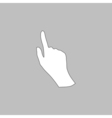 Mouse hand computer symbol vector image vector image