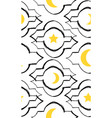 ramadan kareem greeting seamless pattern vector image