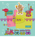 Scrapbook Design Elements - Birthday Party Child vector image