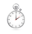 Clock and stopwatch icon vector image