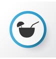 coconut cocktail icon symbol premium quality vector image