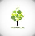 Creative tree concept logo icon design vector image