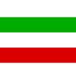 Nordrhein Westfalen Flag vector image vector image