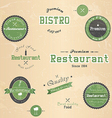 restaurant badge vector image