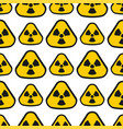 seamless pattern background nuclear power sign vector image vector image