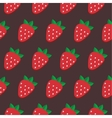 Seamless strawberry pattern Design for vector image