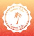summer sales vector image vector image