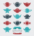 Retro Badges and Labels vector image