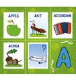 alphabet marks - letter vector image