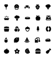 Food and Drinks Icons 6 vector image vector image