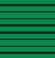 horizontal green stripes seamless print vector image