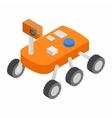 Moonwalker isometric 3d icon vector image vector image