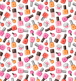 Nail polish pattern vector image