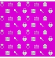Purple background for wedding vector image