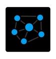 Social Graph icon vector image vector image