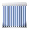 solar heater 03 vector image vector image