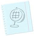 The globe vector image vector image