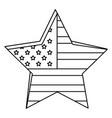 united states of asmerica emblem vector image vector image
