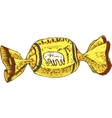 Yellow Candy vector image