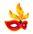 carnival mask vector image
