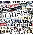 crisis headlines tile vector image