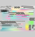glitch background art digital abstract pixel vector image vector image