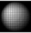 Halftone Circle Texture vector image vector image