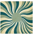 blue twisted old background vector image vector image