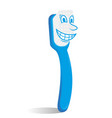 cute toothbrush vector image