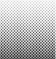 Monochrome curved shape pattern design background vector image vector image