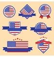 World Flags Series Flag of USA vector image