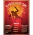 Classic Rock Fest poster design vector image vector image