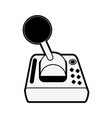 joystick videogame related icon image vector image vector image